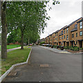 SK5738 : New houses on Arkwright Walk by John Sutton