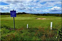 NJ1570 : Golf course by Mick Garratt
