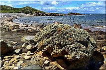 NJ1570 : Hopeman coastline by Mick Garratt
