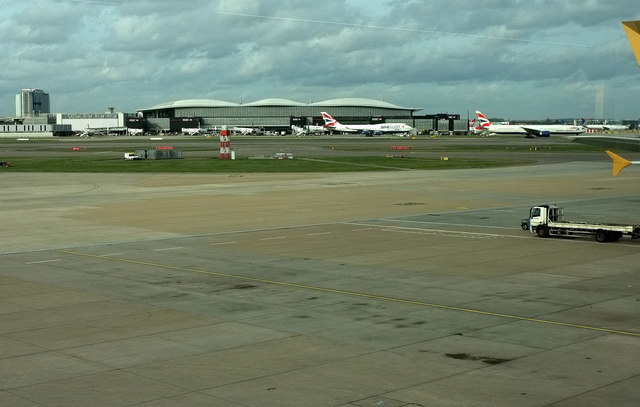 Heathrow Airport from Terminal 4