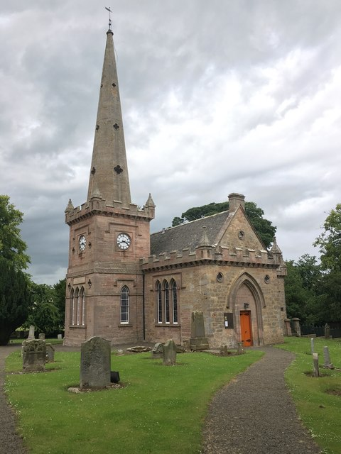 Parish Church at East Saltoun in East Lothian