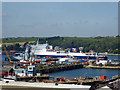 SW8132 : Falmouth Docks by Chris Allen