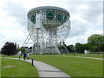 SJ7971 : The Lovell Telescope - now a World Heritage site by Stephen Craven