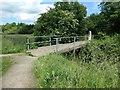 SK4645 : Newmanleys Road swingbridge, Nottingham Canal by Christine Johnstone