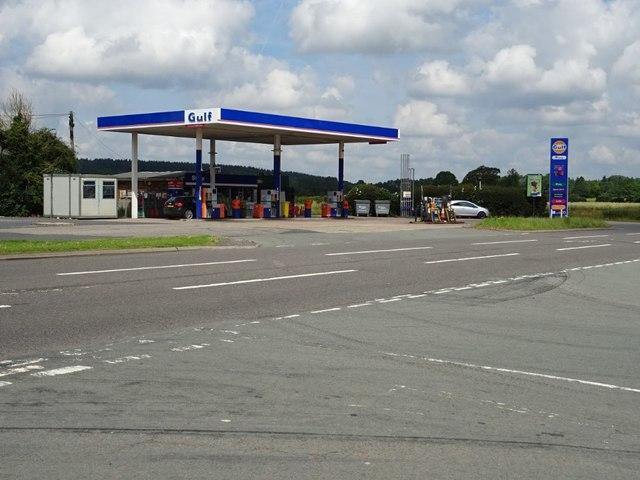 Gulf filling station