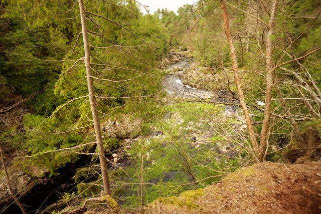 River Findhorn near Mains of Sluie
