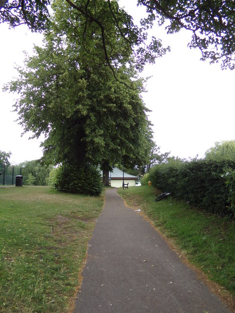 Path at Diss Park