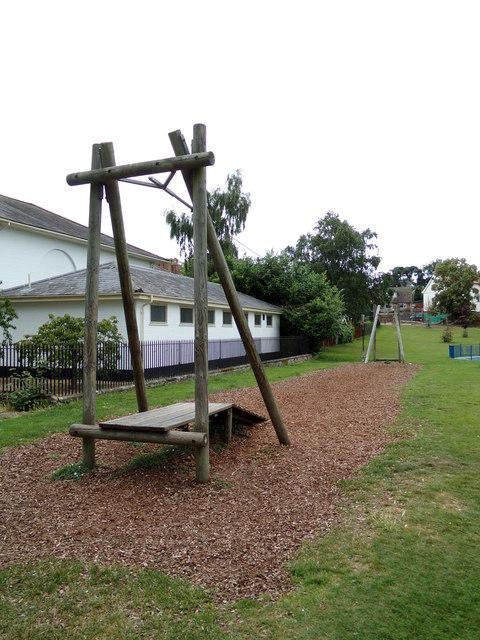 Aerial Rope-way at Diss Park