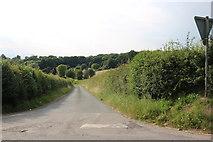 SU3264 : Six Acre Lane near Shalbourne by David Howard