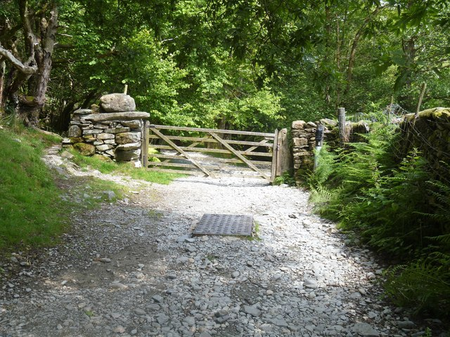 Track from Dale End to Elterwater [5]