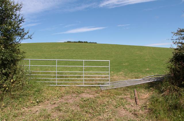 A walk along Kirkgate Lane: views from the highest point (12a)