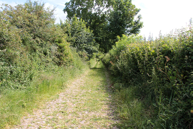 A walk along Kirkgate Lane: views from the highest point (12b)