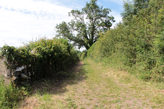 A walk along Kirkgate Lane: views from the highest point (12d)