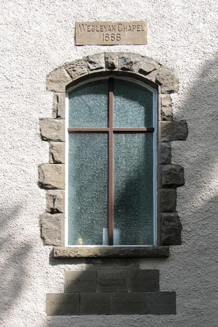 Memorial window, Tewitfield Methodist Chapel