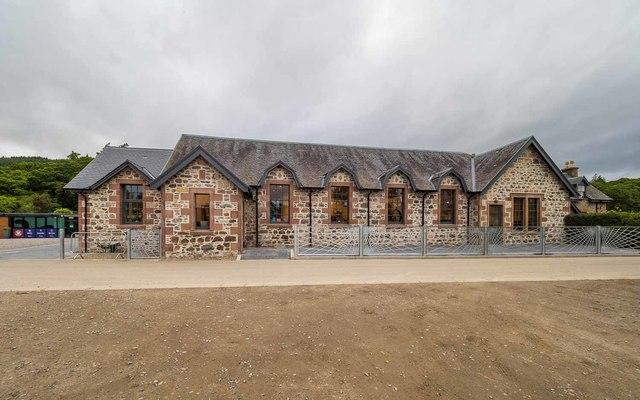 Former Dochgarroch Village Hall by valenta