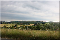 SU3163 : View from the A338, Shalbourne by David Howard