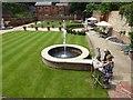 TQ7468 : Formal garden at Restoration House by Marathon