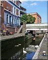 SK5739 : Castle Lock and Wilford Street Bridge by John Sutton