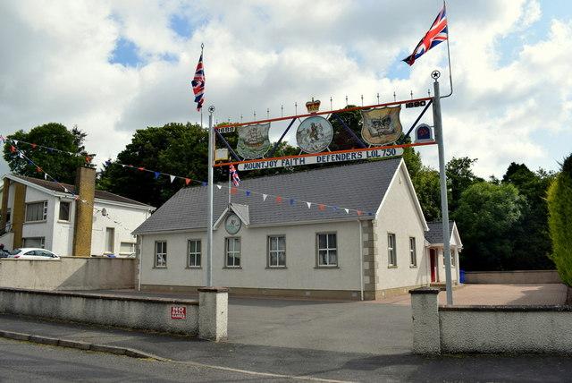 Mountjoy Orange Hall, Killinure