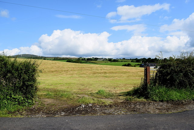An open field, Gortnacreagh