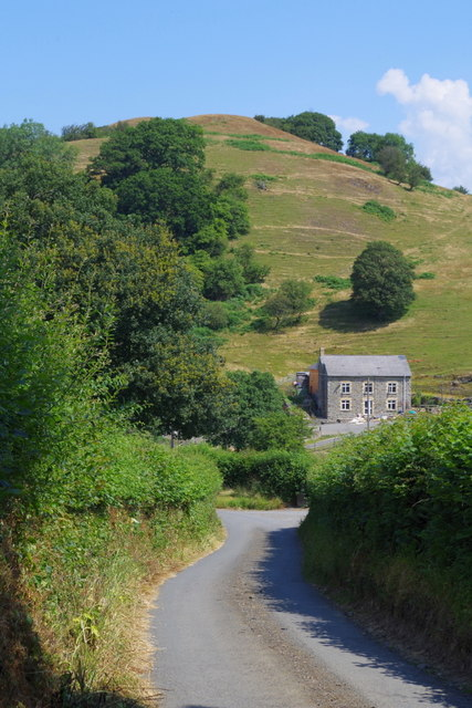 Lane near The Cwm