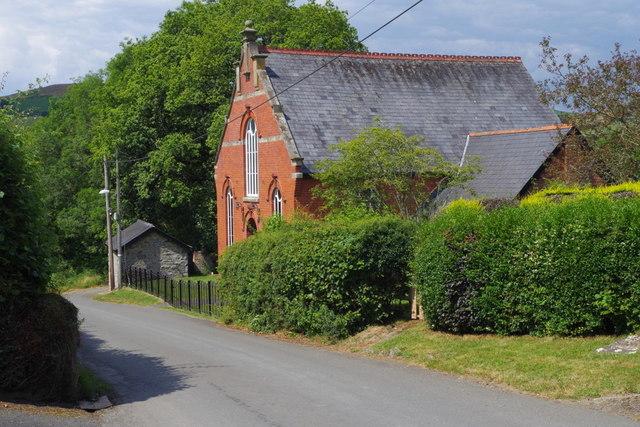 Baptist Chapel, Franksbridge