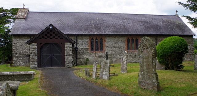 St Bridget's Church, Llansantffraed-in-Elwel