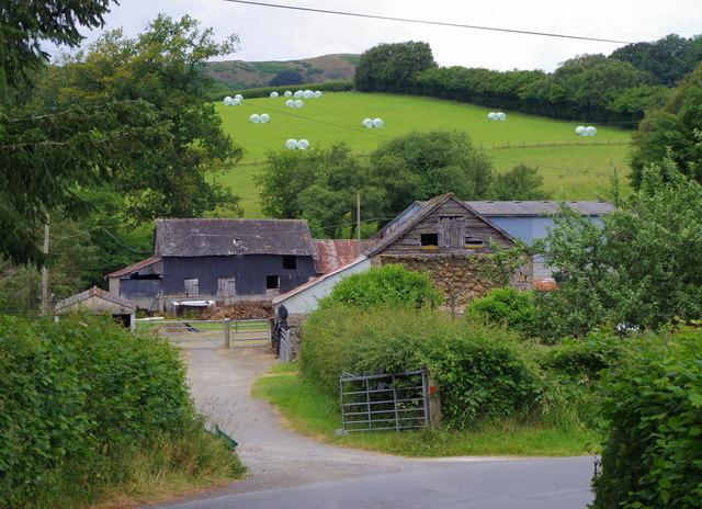 Ddole Farm near Llansantffraed-in-Elwel