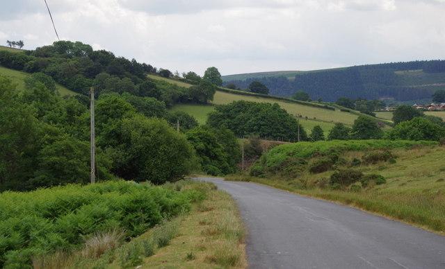 Lane off the hills