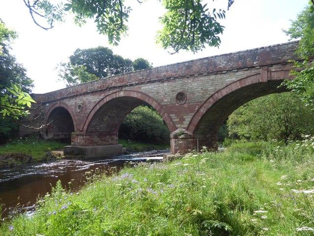 Preston Bridge over Whiteadder Water
