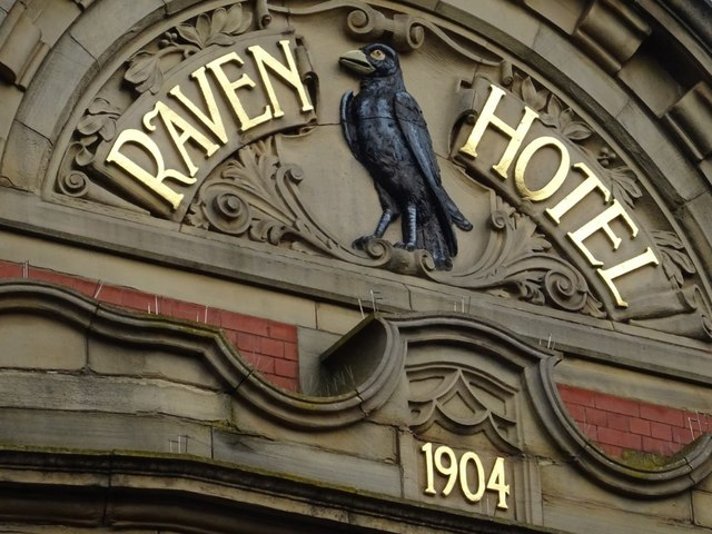 Detail on the Raven Hotel
