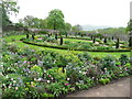 SN5822 : The Upper Walled Garden, Aberglasney by Humphrey Bolton