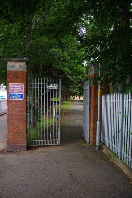 Entrance to St. John's Cemetery, St. John's, Worcester