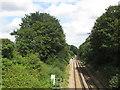 TQ4976 : Railway line near Bexleyheath by Malc McDonald