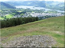 NY2723 : The views from Latrigg [2] by Michael Dibb