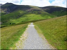 NY2724 : The descent from Latrigg [1] by Michael Dibb