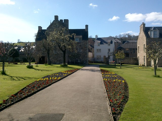 Garden at Mary Queen of Scots' Visitors Centre