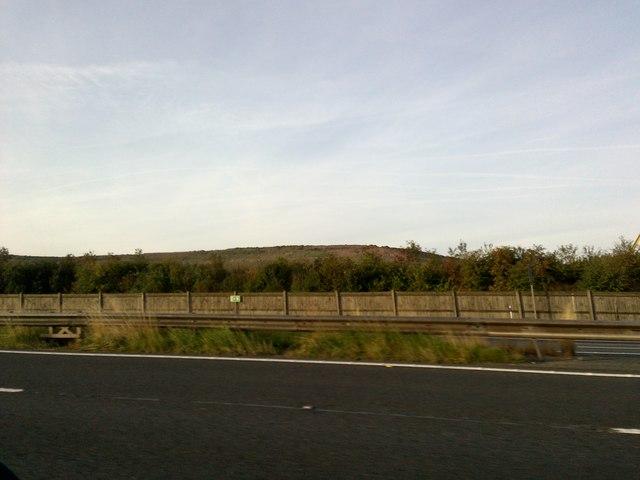 Hill near the Asphalt Plant