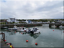 NW9954 : Portpatrick Harbour by Peter Wood
