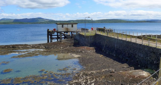 The old pier at Achnacroish