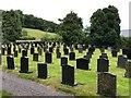 SH9134 : Llanycil churchyard by John Darch