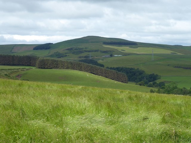 View across the valley of the Whiteadder Water