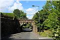 SE1347 : Railway Bridge over Wheatley Lane, Ben Rhydding by Chris Heaton