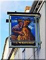 SO8355 : The Wheatsheaf Inn (2) - sign, 192 Henwick Road, Henwick, Worcester by P L Chadwick