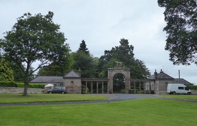 Gateway to Ladykirk House