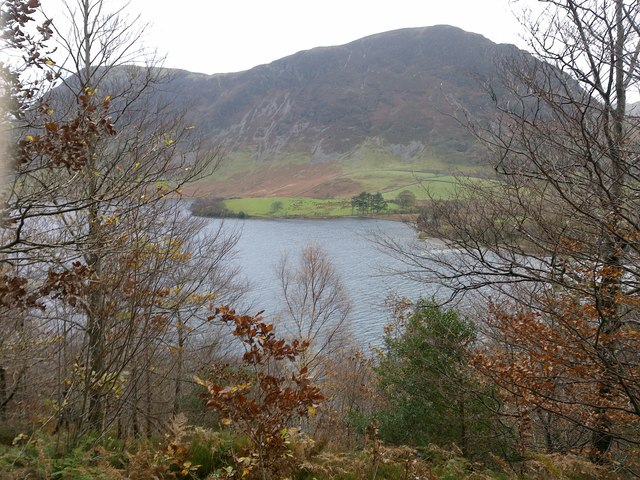 View of Mellbreak and Crummock Water