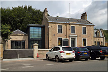 NT7853 : The Jim Clark Museum at Duns by Walter Baxter