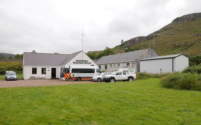 Dundonnell Mountain Rescue Team base