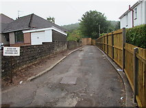 ST3090 : Access for construction personnel only, Pillmawr Road, Malpas, Newport by Jaggery