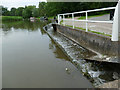 SJ6475 : Canal overflow at Anderton by Stephen Craven